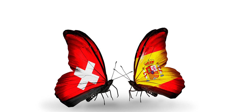 Schmetterlinge Spanien Schweiz - Casco Viejo Zürich