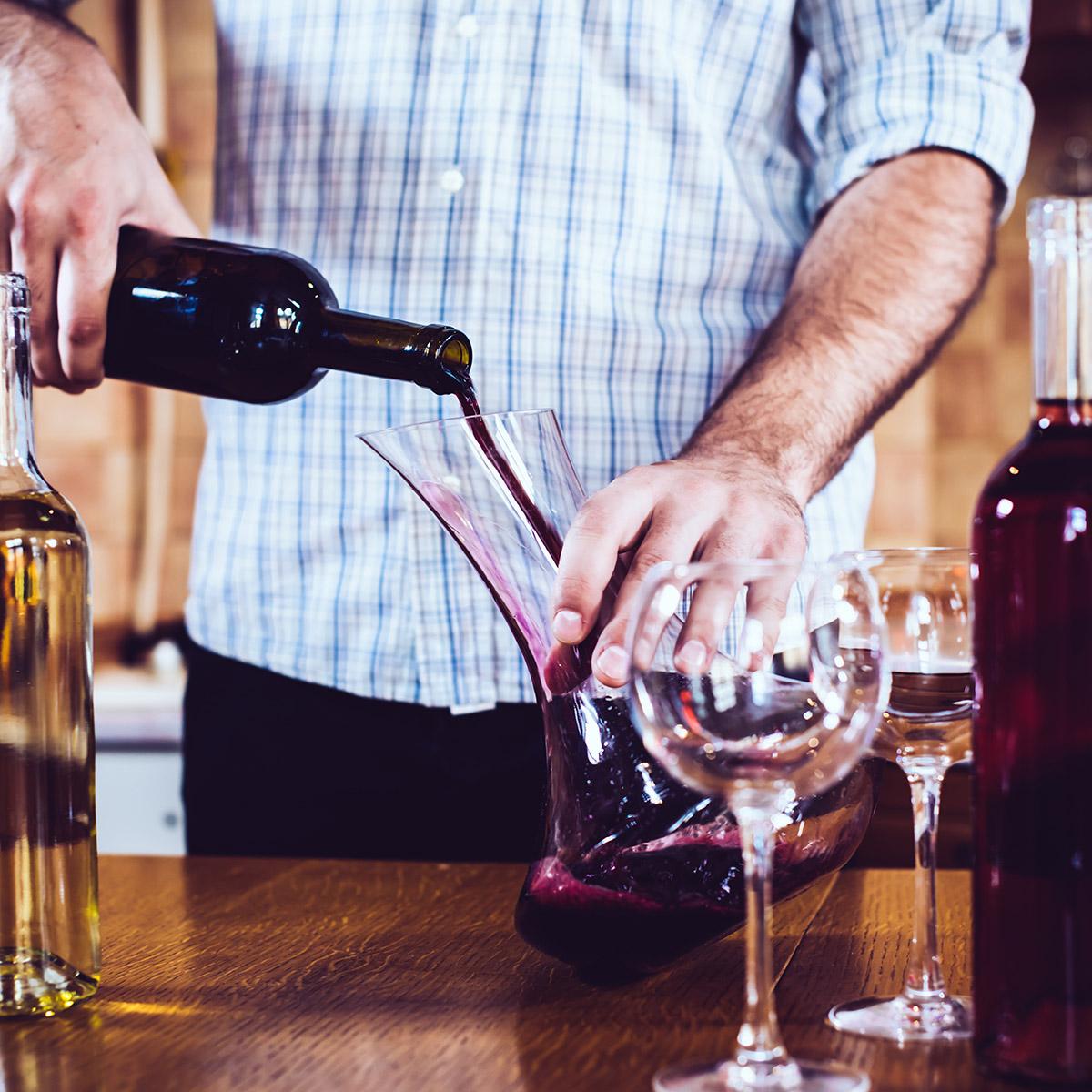 Ausgewähltes Weinangebot im Casco Viejo
